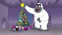 Christmas with a Yeti