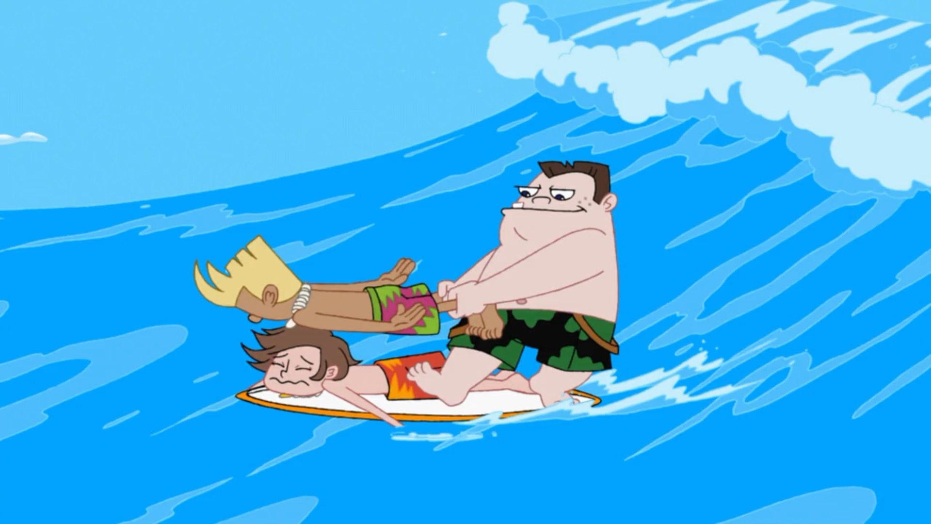 image lawn gnome beach party of terror104 jpg phineas and ferb