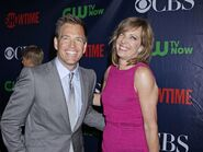 Allison Janney & Michael Weatherly