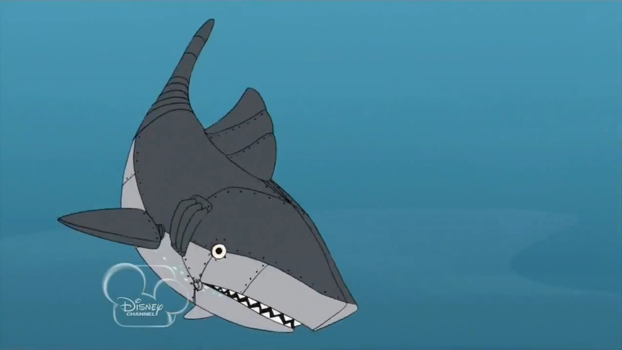 robotic shark phineas and ferb wiki fandom powered by
