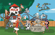 Phineas and Ferb Got Milk Ad