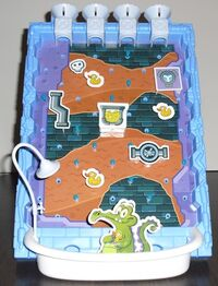 Where's My Water game board