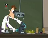 Doofenshmirtz teaching high school