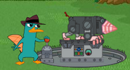 Perry and the Robot Mole