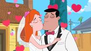 Bob and Tiana kiss