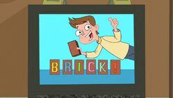Brick commercial - closeup