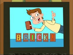 Brick commercial - closeup