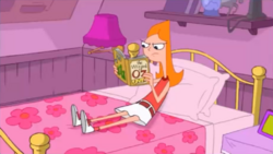 Candace reading Wizard of Oz