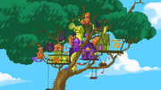 Phineas and Ferb's Treehouse