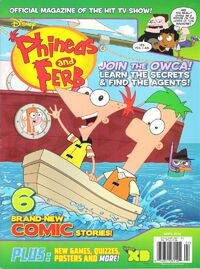 Phineas and Ferb (magazine)/April 2012