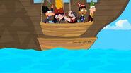 Grandpa's Dinghy - Leaving the ship