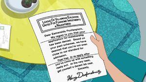 LOVEMUFFIN rejection letter