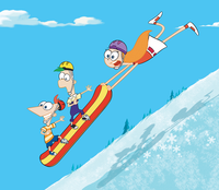 S'Winter Snowboarding