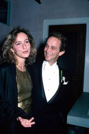 Joel Grey and Jennifer Grey