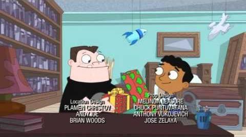 Phineas und Ferb-Song Weihnachtsmann wir danken dir-Das Weihnachtsspecial(Abspann)