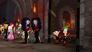 S04E25a The door opens as Phineas and Ferb walk through with the party preparations