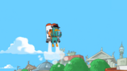 Perry jetpack in London 1