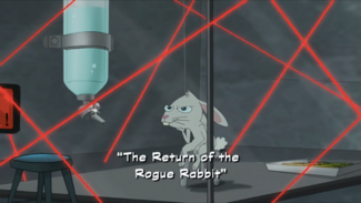 The Return of the Rogue Rabbit title card
