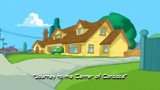 Journey to the Center of Candace title card