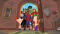 Heroes at the door