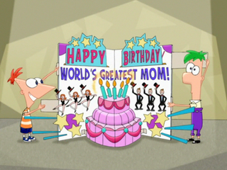 World's Greatest Mom birthday card - cropped