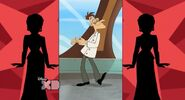 Doofenshmirtz dancing in Doofenshmirtz Swanky New Evil Lair