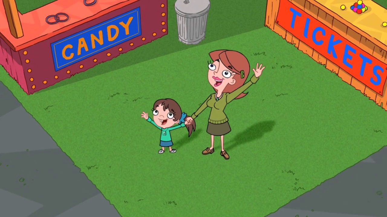 Unnamed Mother and Daughter | Phineas and Ferb Wiki | FANDOM
