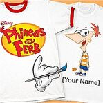 Phineas and Ferb You-Design-It shirt