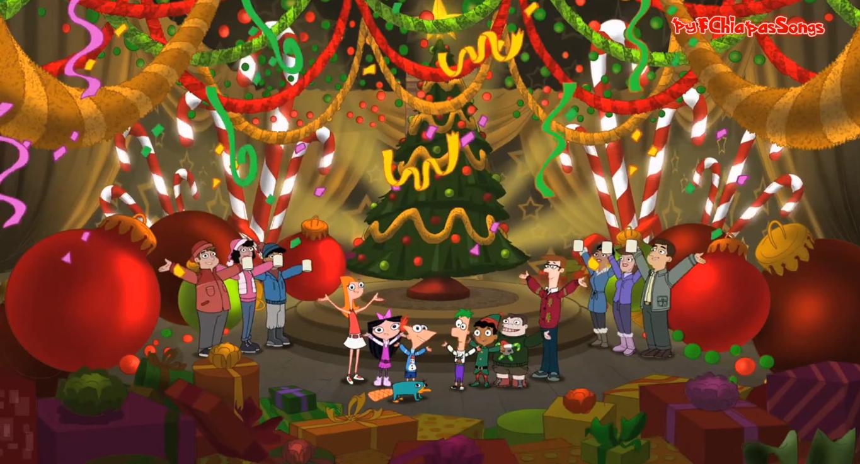 Frohe Weihnachten Wikipedia.Wir Wunschen Euch Frohe Weihnacht Phineas Und Ferb Wiki