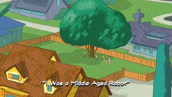 I Was a Middle Aged Robot title card