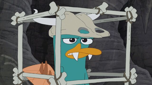 File:Prehistoric Perry in cage.jpg