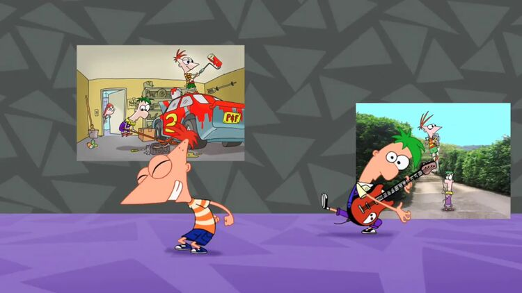 Phineas and Ferb title sequence
