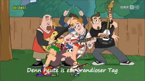 Phineas und Ferb - Heute ist ein grandioser Tag Musik-Video DE HD