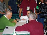 Stan Lee Interviewing - Emerald City Comicon 2010