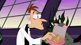 "Original Doofenshmirtz close up during ""Brand New Best Friend"""