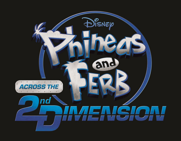 File:Phineas and Ferb - Across the 2nd Dimension - second logo.png