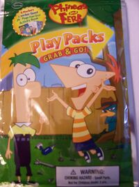 Phineas and Ferb Play Pack cover