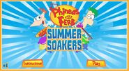 Summer Soakers title screen