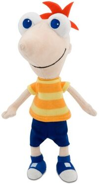 Phineas 10 inch bean bag toy