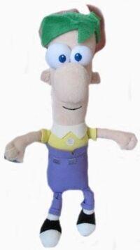 Ferb 9 inch plush toy