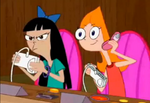 Stacy And Candace Playing treehouse fight