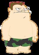 Buford in Swim Trunks