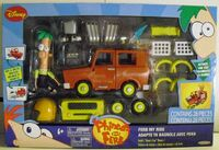 Ferb My Ride - Mom's Car Racer front