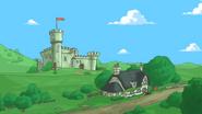 What's that cool castle next door