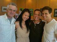 Dee Baker w Rob Paulsen, Gwendoline Yeo, & Yuri Lowenthal