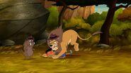 Robot Baljeet and Lion