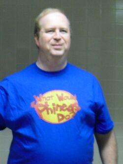 RRabbit42 wearing WWPD shirt