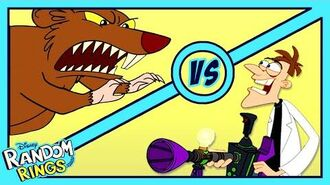 Dr. Doofenshmirtz's Rat Problem 🐀 Random Rings Phineas and Ferb Disney Channel