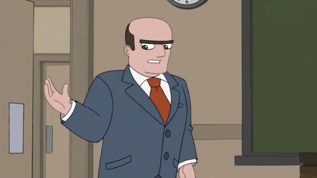 File:Principal Lang enters the classroom.JPG