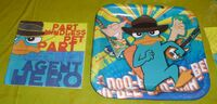 Hallmark 9 inch Agent P plate and napkin front